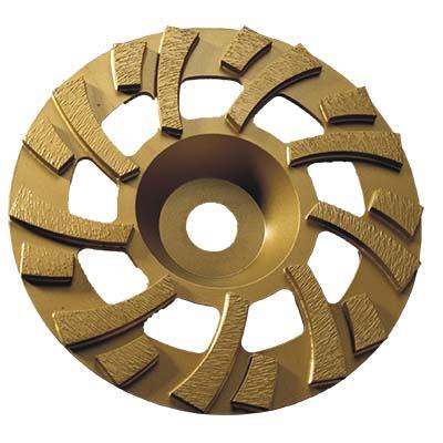 Siver Brazer Turbo Row Cup Wheel