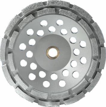 Siver Brazed Double Row Cup Wheel