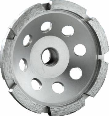 Siver Brazed Single Row Cup Wheel